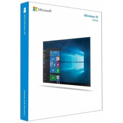 Операционная система Microsoft Windows 10 Home 32-bit/64-bit Russian USB RS (KW9-00502)