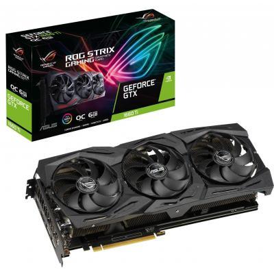 Видеокарта ASUS GeForce GTX1660 Ti 6144Mb ROG STRIX OC GAMING (ROG-STRIX-GTX1660TI-O6G-GAMING)