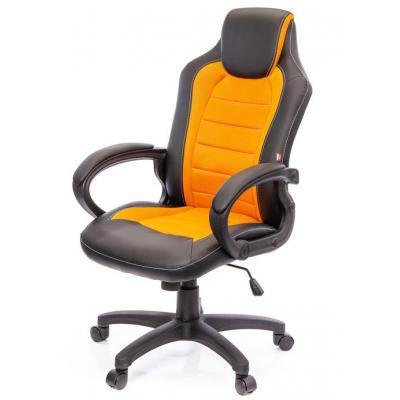 Кресло игровое АКЛАС Астон W PL TILT Оранжевое (10473)