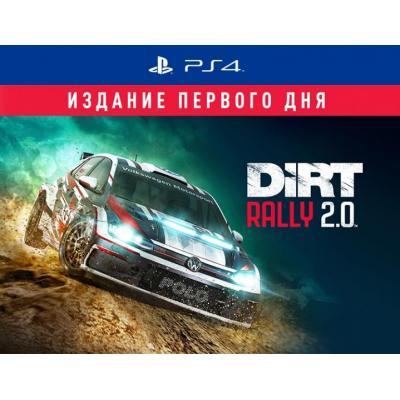 Игра SONY Dirt Rally 2.0 Издание первого дня [PS4, Russian version] (8754273)