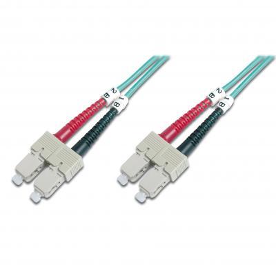 Оптический патчкорд DIGITUS SC-SC, duplex, 1m (DK-2522-01/3)