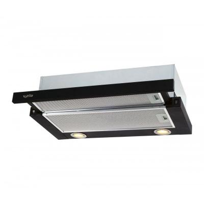 Вытяжка кухонная VENTOLUX GARDA 60 BK (650) IT H