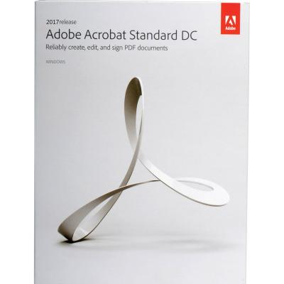Офисное приложение Adobe Acrobat Standard 2017 Windows Russian AOO License TLP (65280451AD01A00)
