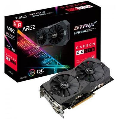 Видеокарта ASUS Radeon RX 570 4096Mb AREZ STRIX GAMING OC (AREZ-STRIX-RX570-O4G-GAMING)