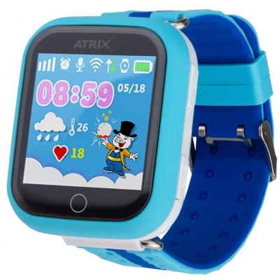 Смарт-часы ATRIX Smart watch iQ100 Touch Blue
