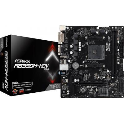 Материнская плата ASRock AB350M-HDV R3.0