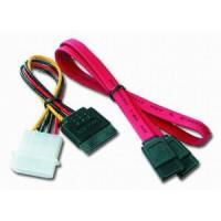 Кабель для передачі даних SATA +power 0.5m Cablexpert (CC-SATA)