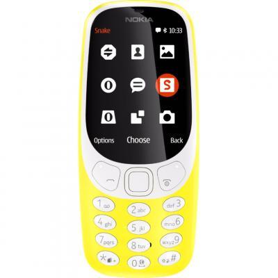 Мобильный телефон Nokia 3310 Yellow (A00028100)