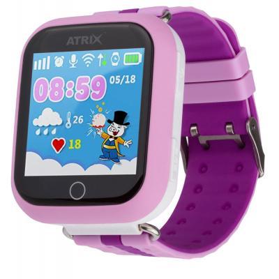 Смарт-часы ATRIX Smart watch iQ100 Touch Pink