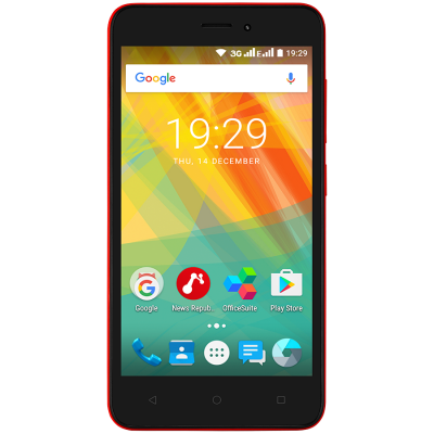 Мобильный телефон PRESTIGIO MultiPhone 3510 Wize G3 DUO Red (PSP3510DUORED)