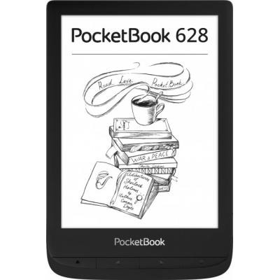 Электронная книга PocketBook 628 Touch Lux5 Ink Black (PB628-P-CIS)