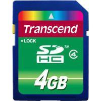 Карта пам'яті Transcend 4Gb SDHC class 4 (TS4GSDHC4)