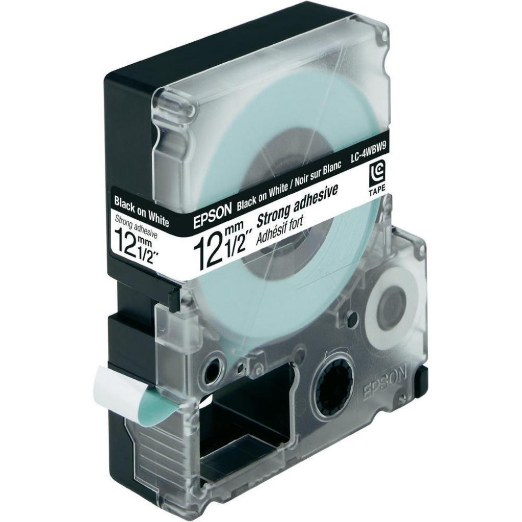 Лента для принтера этикеток EPSON Labelworks LC-4WBW9 (C53S654016)