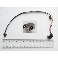 Роз'єм живлення ноутбука з кабелем для Acer PJ134 (5.5mm x 1.7mm), 4-pin, 23 см универсальный (A49031)