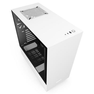 Корпус NZXT H510 White/Black (CA-H510B-W1)