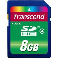 Карта пам'яті Transcend 8Gb SDHC class 4 (TS8GSDHC4)