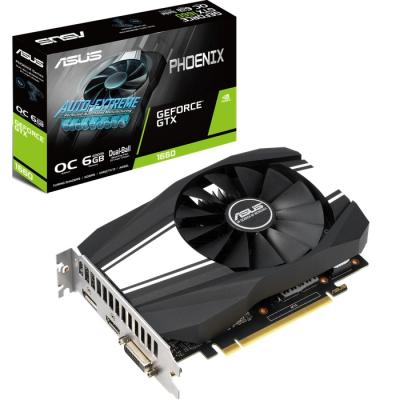Видеокарта ASUS GeForce GTX1660 6144Mb Phoenix OC (PH-GTX1660-O6G)