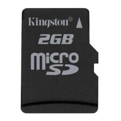 Карта памяти 2Gb microSD Kingston (SDC/2GB)