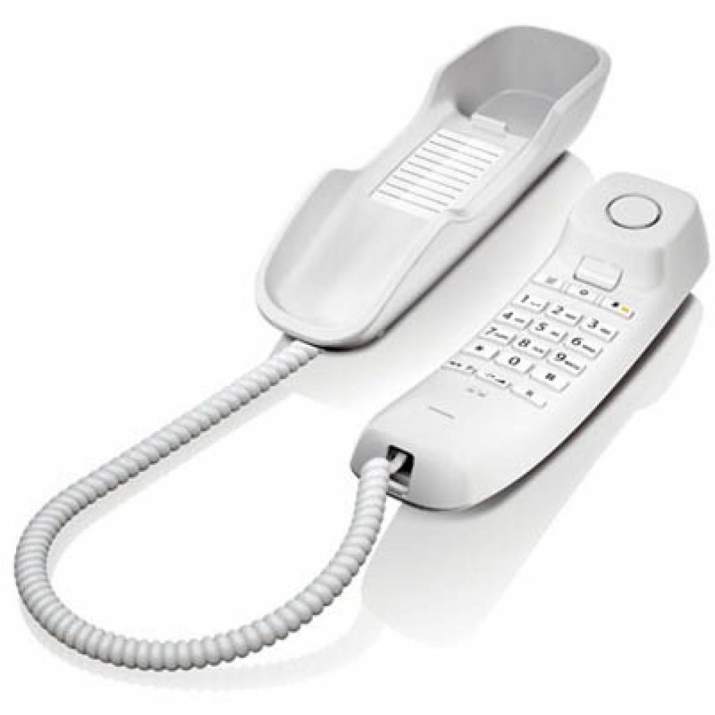 Телефон Gigaset DA210 White (S30054S6527S302)