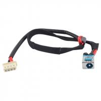 Роз'єм живлення ноутбука з кабелем для Acer PJ278 (5.5mm x 1.7mm), 4-pin, 31 см универсальный (A49034)
