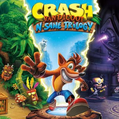 Игра SONY Crash Bandicoot N'sane Trilogy [Blu-Ray диск] PS4 (88222EN)