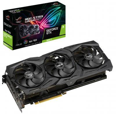 Видеокарта ASUS GeForce GTX1660 Ti 6144Mb ROG STRIX Advanced GAMING (ROG-STRIX-GTX1660TI-A6G-GAMING)