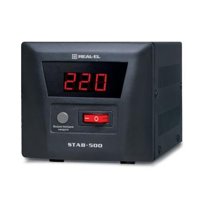 Стабилизатор REAL-EL STAB-500 (EL122400002)