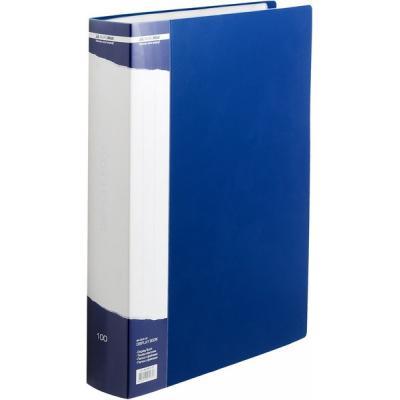 buromax Папка с файлами BUROMAX 100 files А4 (in case), blue (BM.3633-02) 000819078