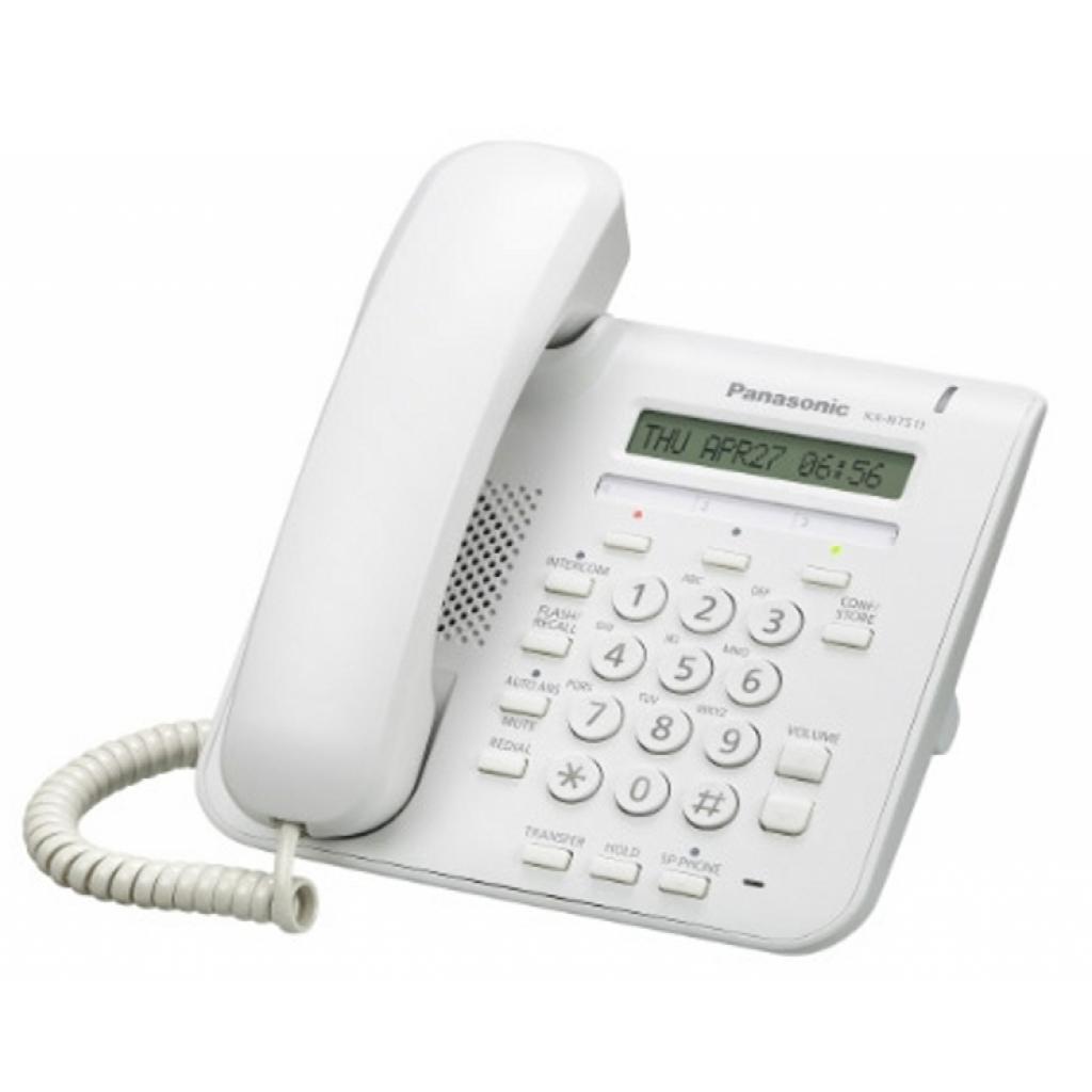Системный телефон PANASONIC KX-NT511ARUW
