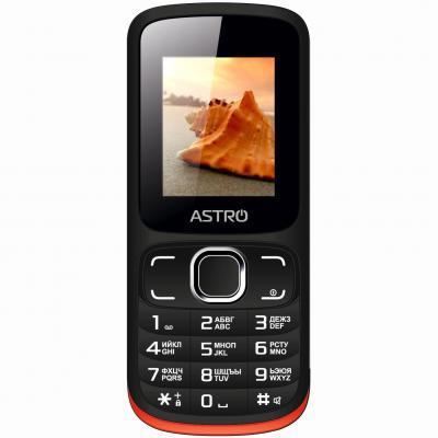 Мобильный телефон Astro A177 RX Black Red