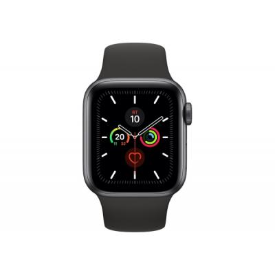 Смарт-часы Apple Watch Series 5 GPS, 40mm Space Grey Aluminium Case with Blac (MWV82UL/A)