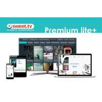 Карта активації SWEET.TV Пакет Premium lite Plus, период на 6 мес. (TRINITY_PLplus_06)