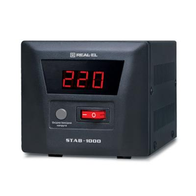 Стабилизатор REAL-EL STAB-1000 (EL122400003)