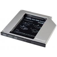 Фрейм-перехідник Grand-X HDD 2.5'' to notebook 9.5 mm ODD SATA3 (HDC-26)
