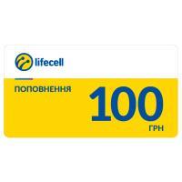 Карточка пополнения счета Life:) 100