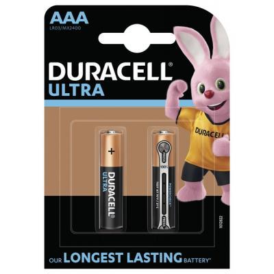 Батарейка Duracell Ultra Power AAA LR03 * 2 (5000394060425 / 5004804)