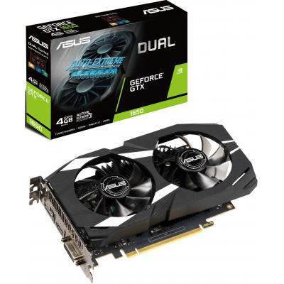 Видеокарта ASUS GeForce GTX1650 4096Mb DUAL (DUAL-GTX1650-4G)