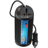 Автомобільний інвертор PORTO 12V/220V 150W, USB, ионизатор, Black (MNY-150B)