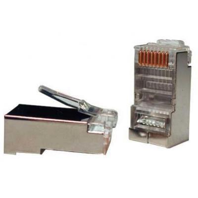 Коннектор EvroMedia RJ45 5 FTP 100 шт.