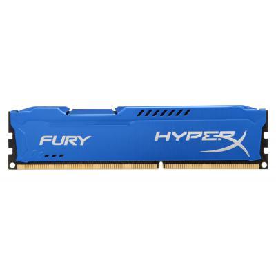 Модуль памяти для компьютера DDR3 4Gb 1866 MHz HyperX Fury Blu Kingston (HX318C10F/4)