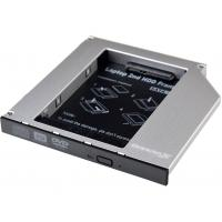 Фрейм-перехідник Grand-X HDD 2.5'' to notebook 12.7 mm ODD SATA3 (HDC-27)