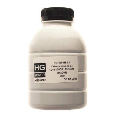 Тонер HP LJ Universal 100г (1010/1200/1160/P4015) HG (HG206-100)