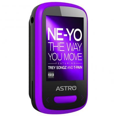 mp3 плеер Astro M4 Black/Purple