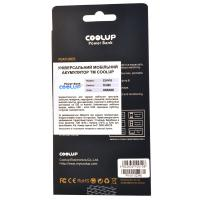 Батарея универсальная CoolUp CU-V10 10000mAh Orange (BAT-CU-V10-OR)
