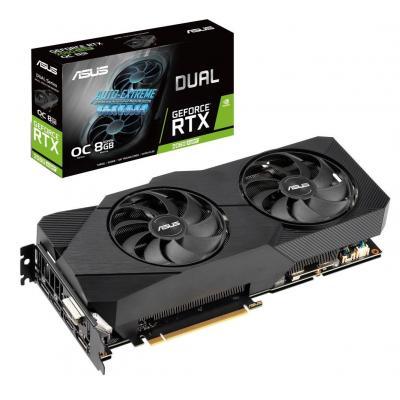 Видеокарта ASUS GeForce RTX2060 SUPER 8192Mb DUAL OC EVO (DUAL-RTX2060S-O8G-EVO)