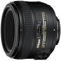 Об'єктив Nikkor AF-S 50mm f/1.4G Nikon (JAA014DA)