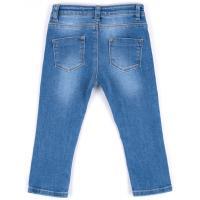 Джинсы Breeze джинсовые с цветочками (OZ-17703-86G-jeans)