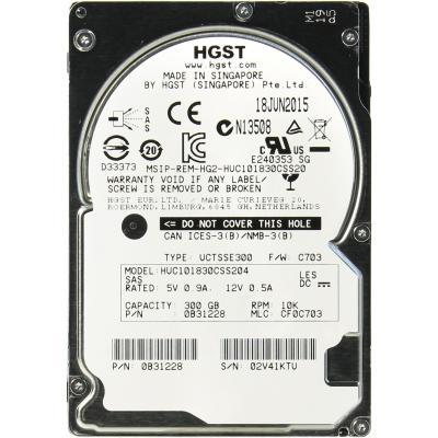 Жесткий диск для сервера 300GB WDC Hitachi HGST (0B31228 / HUC101830CSS204)