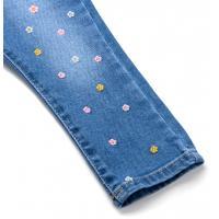 Джинсы Breeze джинсовые с цветочками (OZ-17703-92G-jeans)