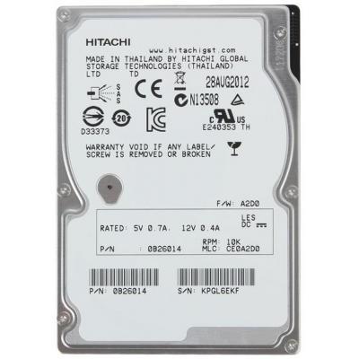 Жесткий диск для сервера 1.8TB WDC Hitachi HGST (0B31236 / HUC101818CS4204)